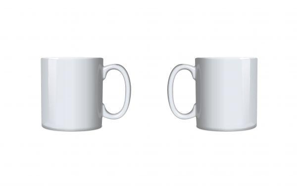 Sublimations Tasse weiß glänzend