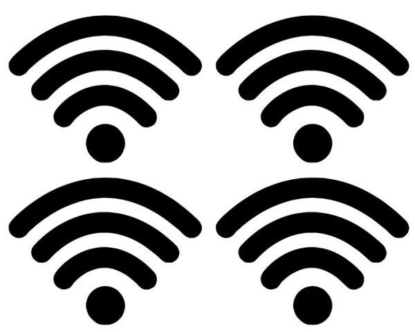 WiFi WLAN / Schalter Symbol