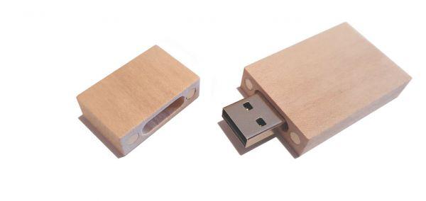 USB-Stick 2.0 Holz 4 GB (3,75 GB) inkl. Gravur