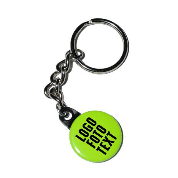 Schlüsselanhänger 4/0 Farb Druck