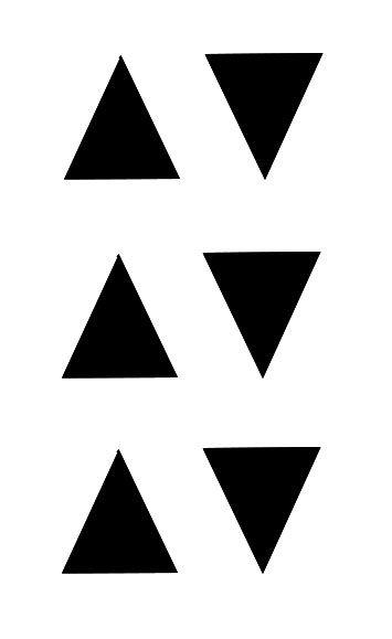 Auf / Ab Rolladen Schalter Symbol