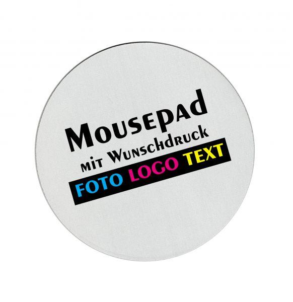 Mousepad Rund mit Wunschdruck