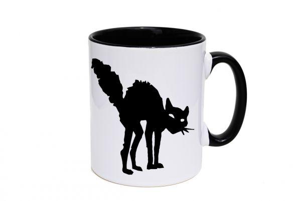 Tasse - schwarze Katze